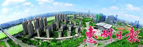 惠州地税服务城市经济发展。 本报记者郭亮平 摄