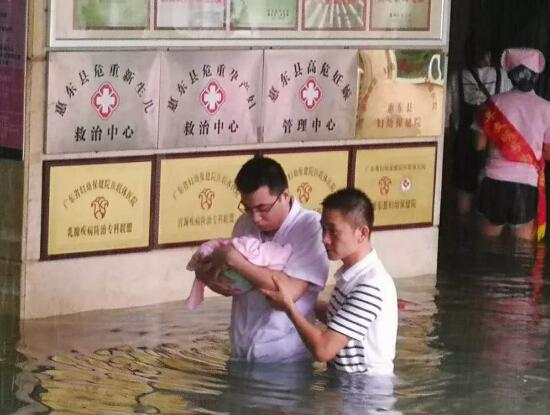阳光洒在大地上――广东省惠东县抗击特大暴雨纪实